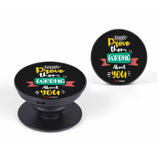 Prove Them Wrong About You Pop Up Socket