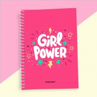 Girl Power Quotation Nootbook