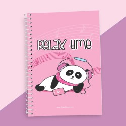 Relax Time Quotation Notebook