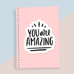 You Are Amazing Quotation Notebook