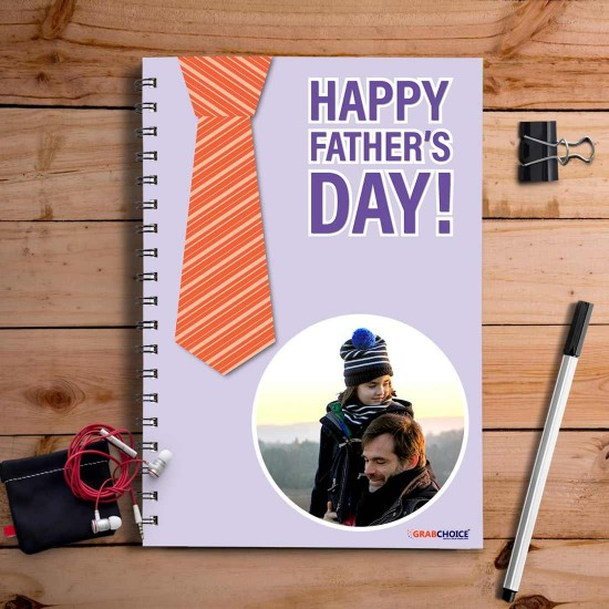 Personalized Happy Father's Day Quotation Notebook
