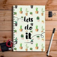 Lets Do It Quotation Nootbook