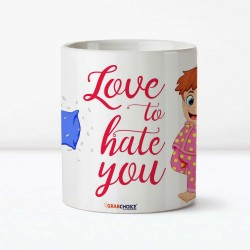 Love To Hate You Sibling Mug