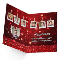 Personalized Birthday Greeting Card