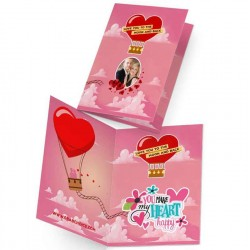 Personalized Love Greeting Card