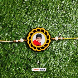 Personalized Rakhi For Brother-Round